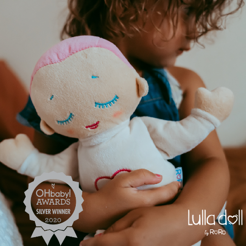 Lulla by Roro - Lulla Doll Generation 3 (With Relaxing Heartbeat & Breathing, Baby and Child Sleep Companion)