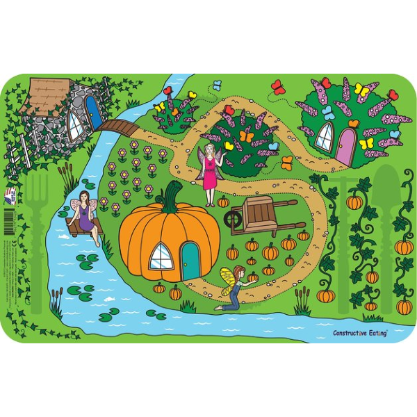 Fairy Garden Placemat - Constructive Eating