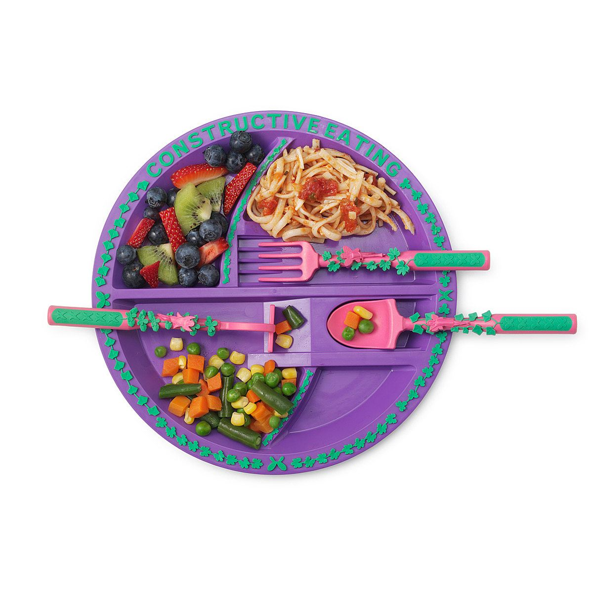 Garden Fairy Plate - Constructive Eating