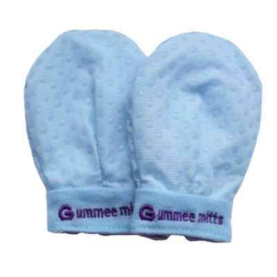 Gummee - 'Anti Scratch' Teething Mitts, 0-3 months