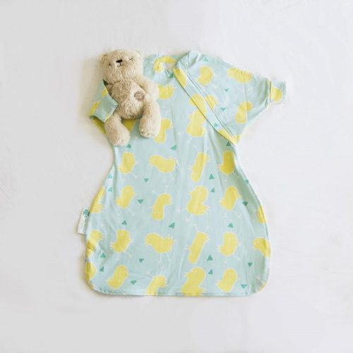 Baby Loves Sleep - Hands in & Out Swaddle 0.7 Tog 3 Seasons Organic Cotton