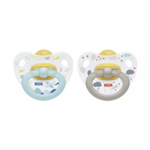 Happy Kids Latex Twin Pack Soother 6-18M (NEW) - NUK