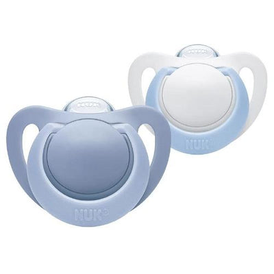 Genius Silicone Soother Size 6-18 Months Duo Pack - NUK