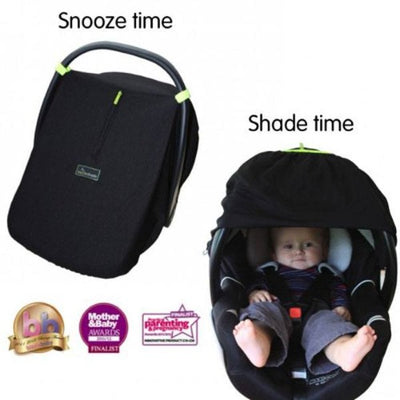SnoozeShade - Infant Car Seat Blackout Cover