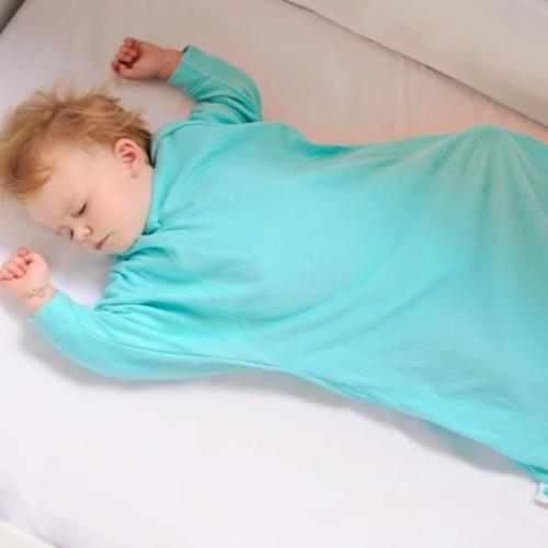 Baby Loves Sleep - Swaddle Sleep Bag Hands in & Out - Summer Cool