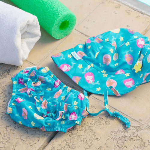 Toddler Swim Set with Diaper + Sunhat - Bumkins