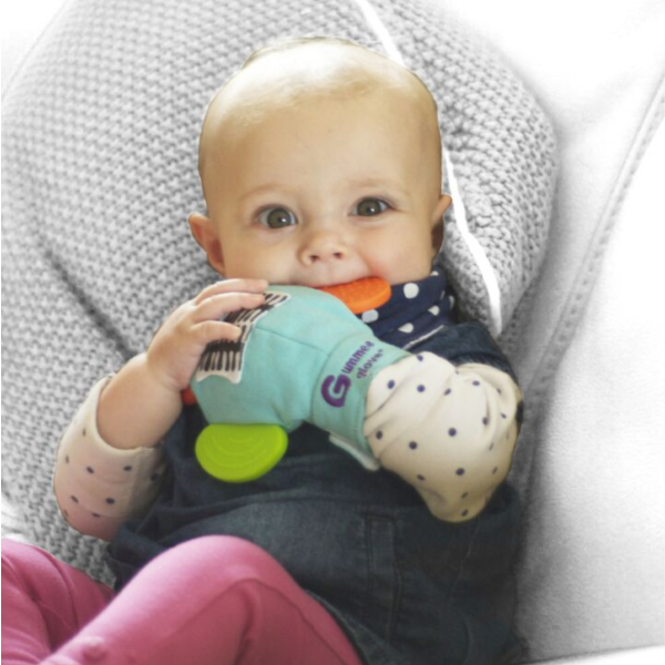 Gummee Glove - Teething Baby 6 months Plus