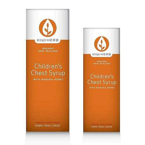 Children's Organic Chest Syrup - Kiwiherb