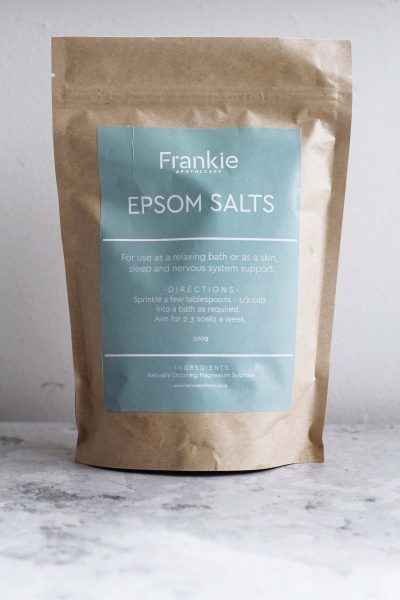 Frankie Apothecory - Natural Epsom Salts - 500 grams