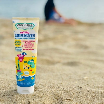 Natural Sunscreen SPF30 With Chamomile &  Calendula - Jack n' Jill