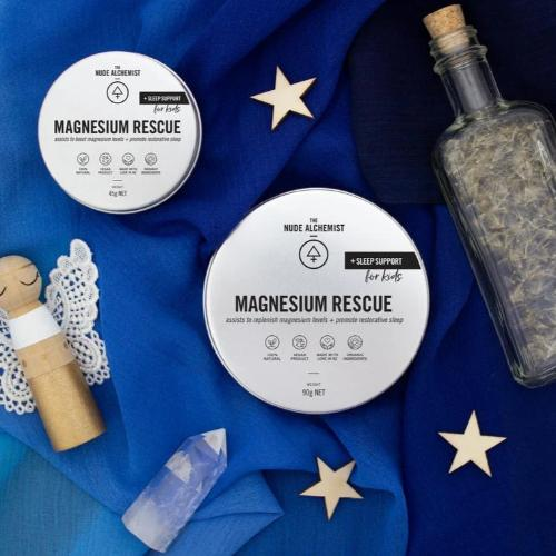 Magnesium Rescue, Childrens and Standard Rub Formula - The Nude Alchemist