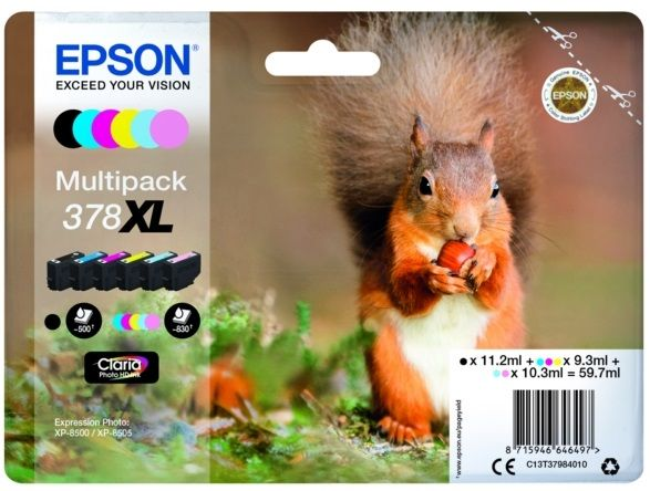 EPSON-Multipack-6-colours-378XL-Claria-Photo-HD-Ink-ARDILLA