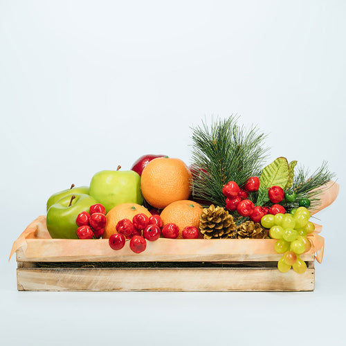 Christmas Fruit Crate