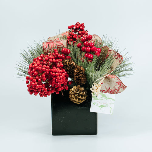 Christmas Black Box Arrangement