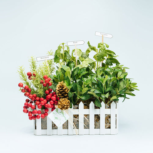 Herb Garden Large Basket