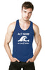 Act now or surf later tank top