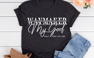 Way Maker Miracle Worker Tee
