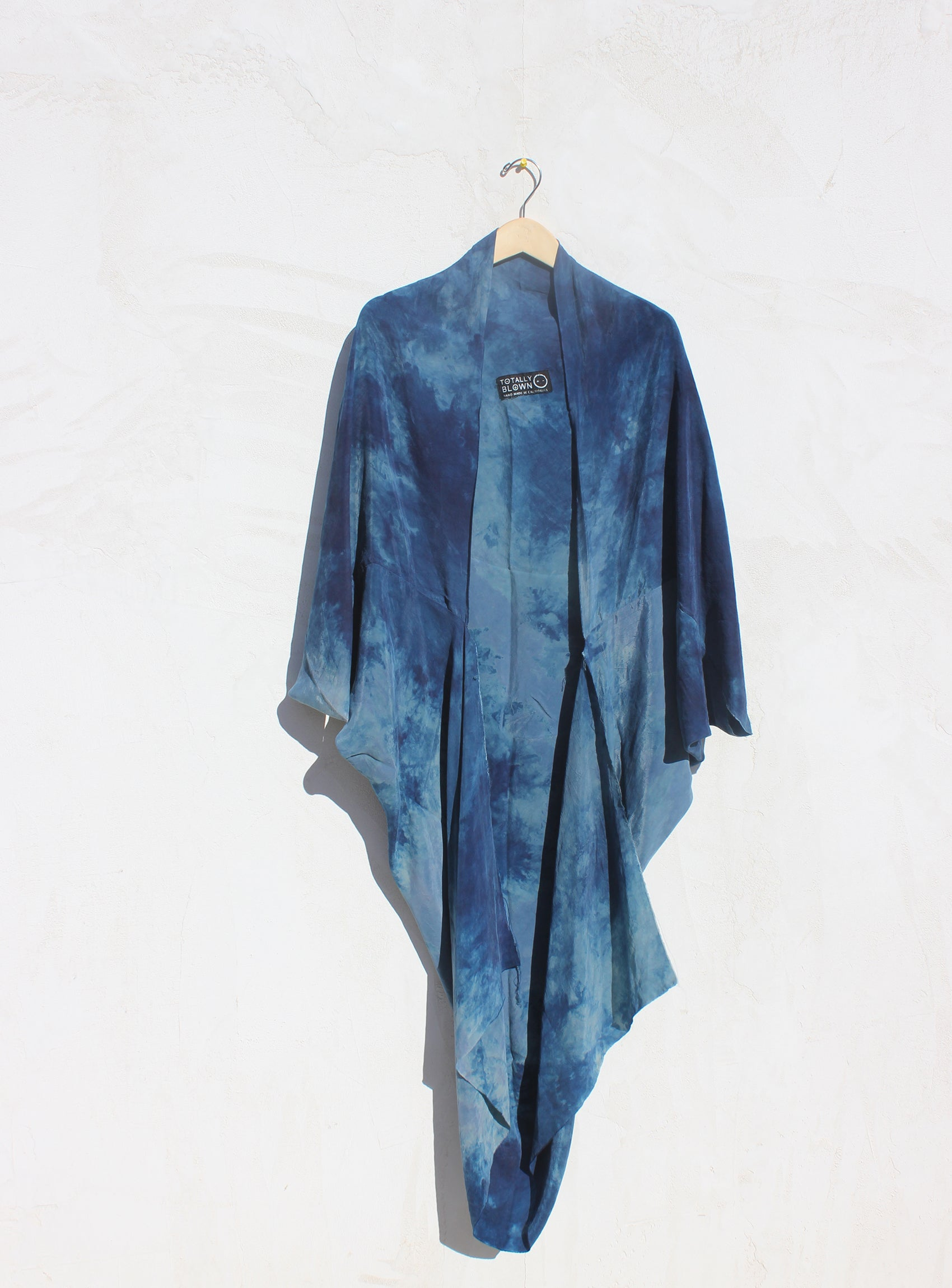 TOTALLY BLOWN blue kimono.