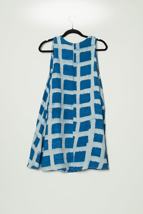 Della Block Print Dress - SOLD