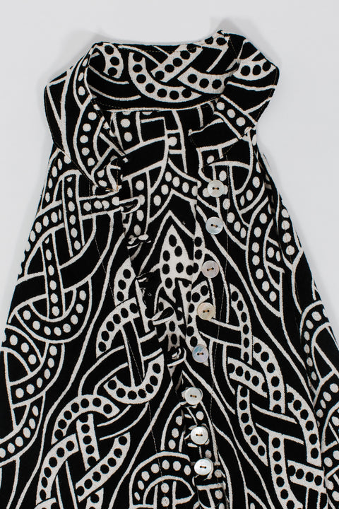Celtic Maxi Dress - SOLD