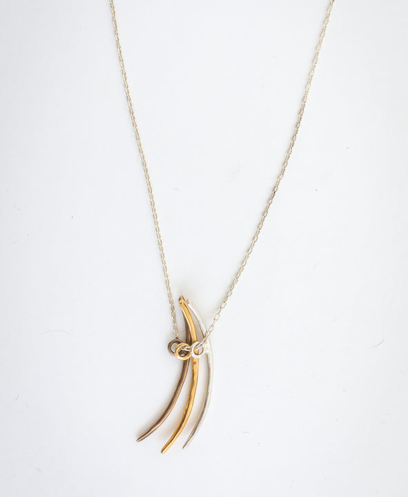 Claw Blade Necklace