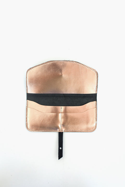 Maxi Wallet in Rose gold