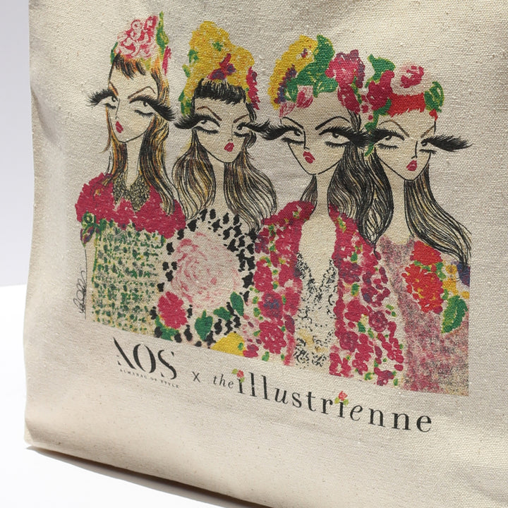 AOS x The Illustrienne Tote Bag