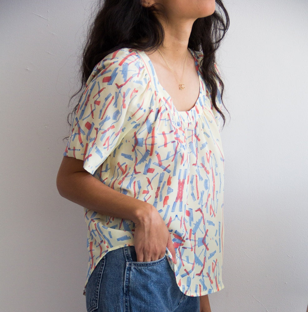 silk blouse by Myrtle