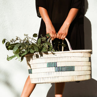 SHOP: Handwoven African Basket