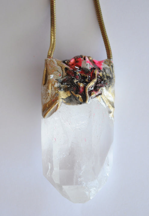 Large Quartz Pendant - SOLD