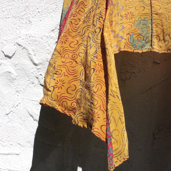 Silk Sunset Blouse