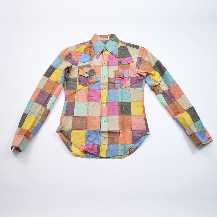 Vintage Patchwork Shirt - SOLD