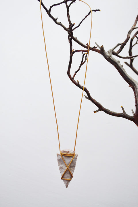 Arrowhead Necklace - SOLD