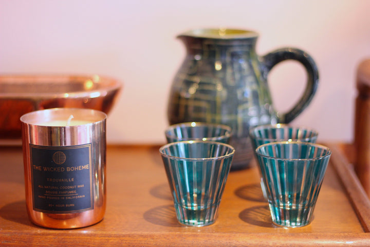 Mid Century Cocktail Glasses - SOLD