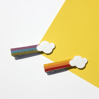 Rainbow Cloud Clips