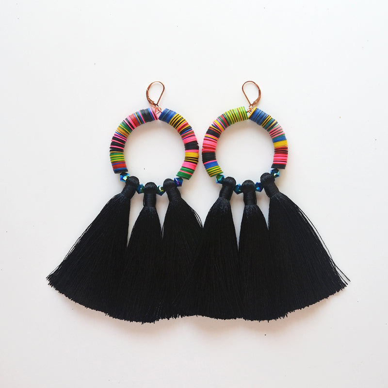Mahlangu Fringe Earrings