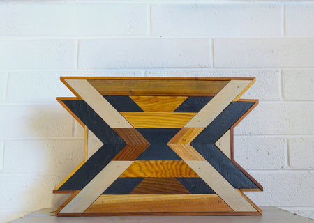 Organic Chevron Wall Hanging
