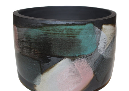 Black Melange Planter