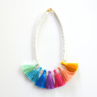 Rainbow Taj Necklace