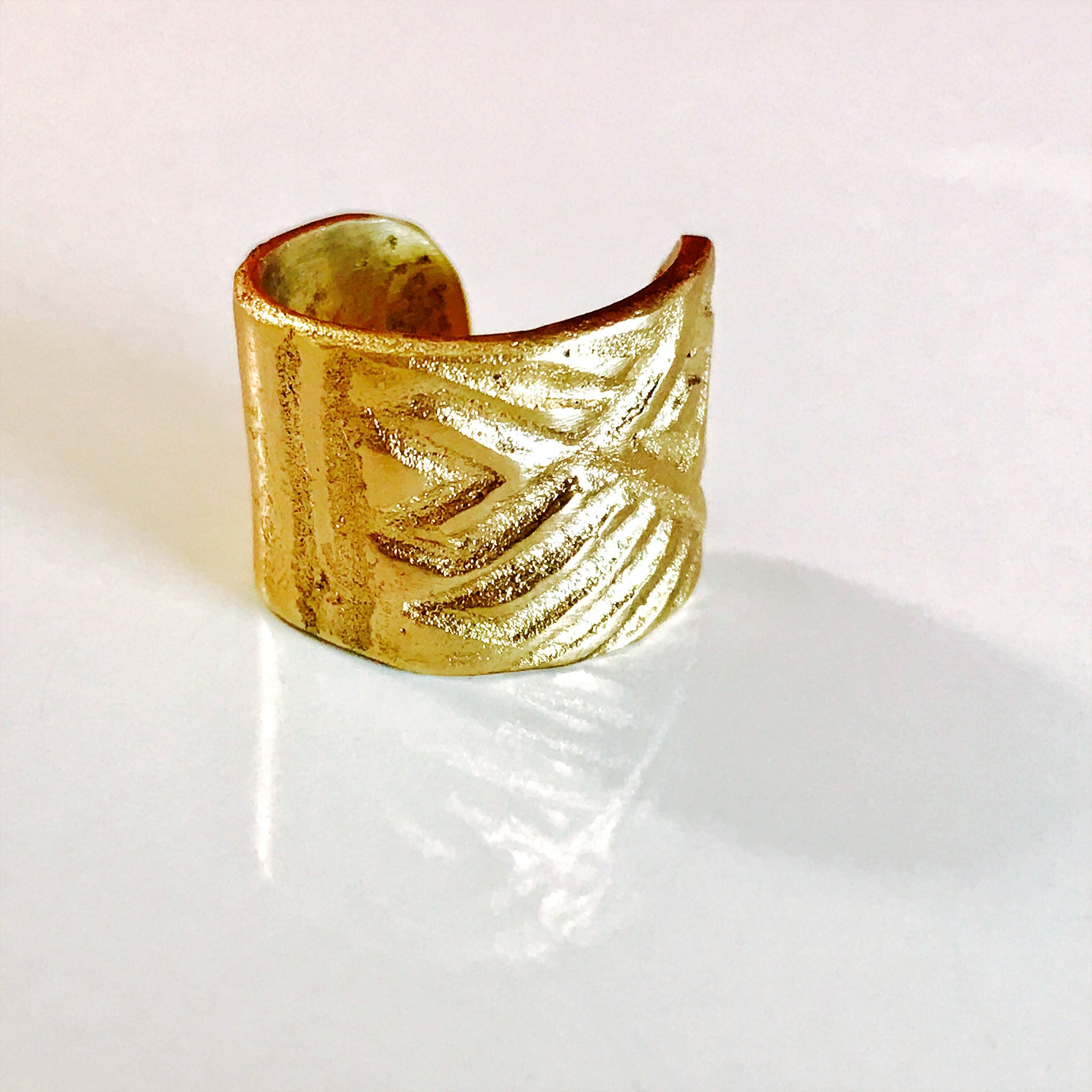 Imprinted Ring - $89