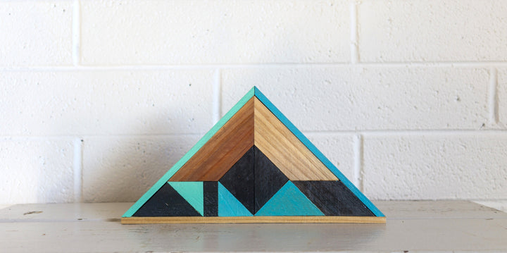 Chevron Triangle Wall Hanging