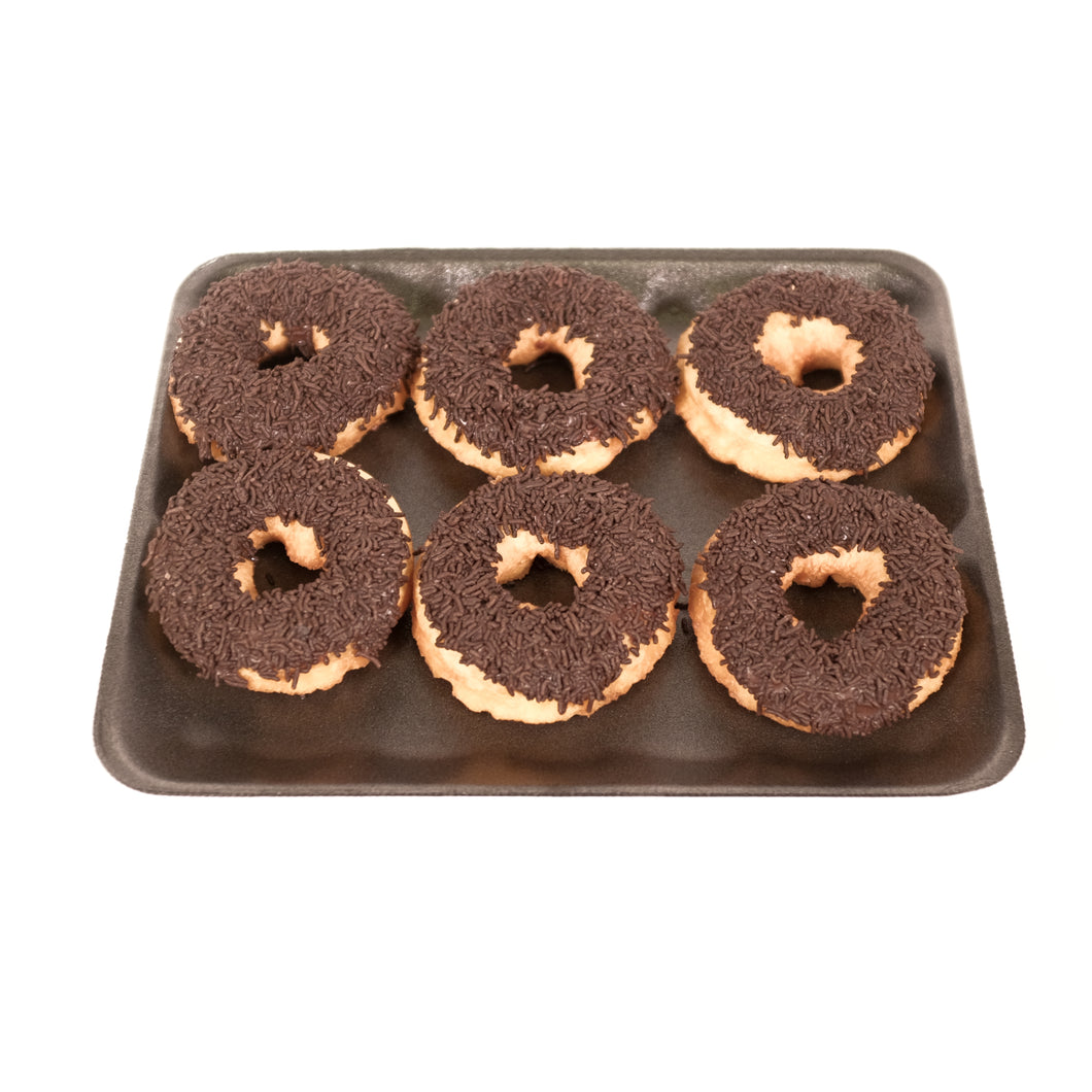 American Donuts with Chocolate | pack of 6