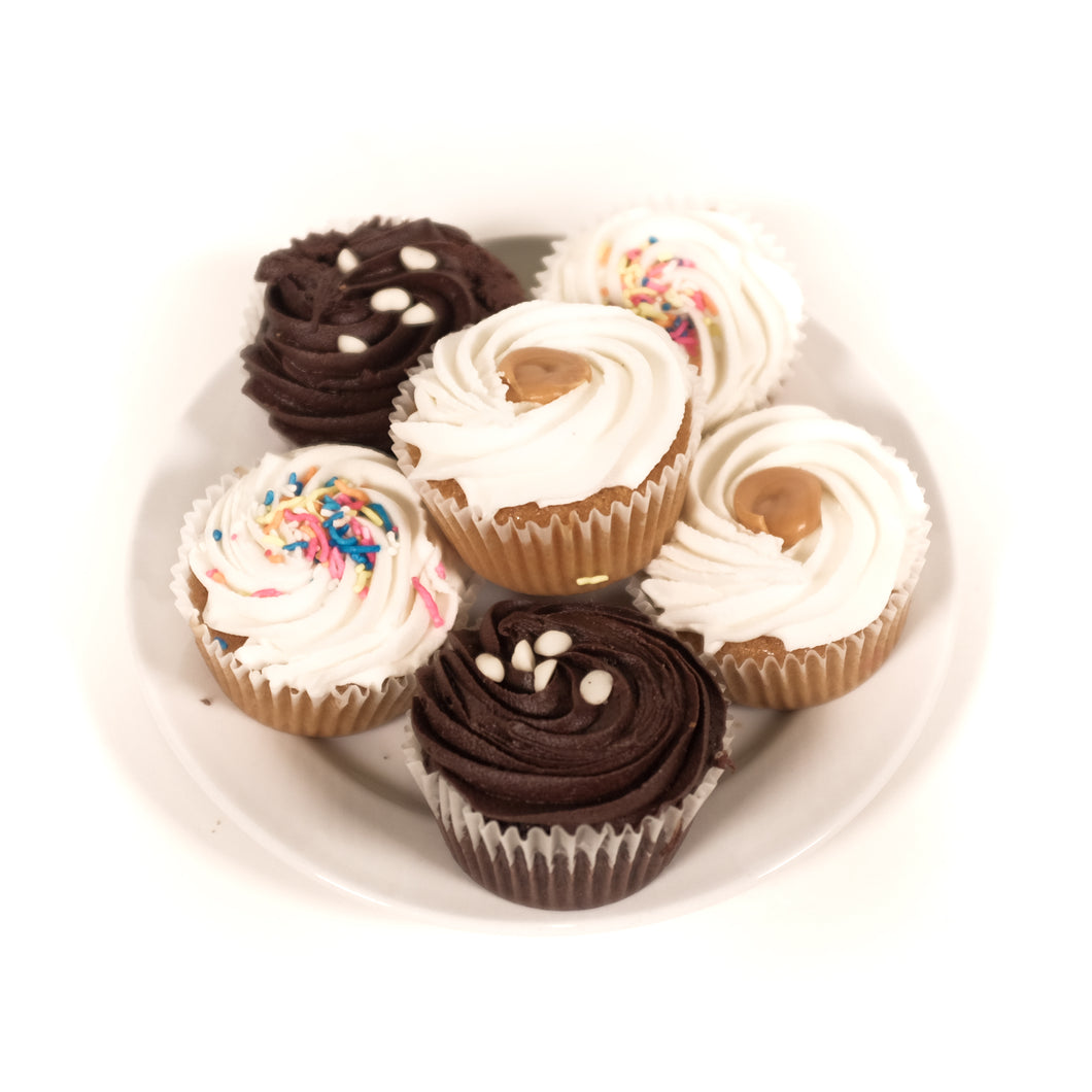 Cupcake Assortment | 6 x 50g