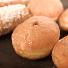 Load image into Gallery viewer, Doughnut Assortment - Jam, Cinnamon & Coconut | 6 x 40g