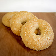 Load image into Gallery viewer, Bagels, Seeded | 3 x 80g