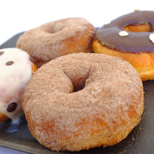 Load image into Gallery viewer, Doughnut Assortment -  Chocolate, Iced & Cinnamon | 4 x 80g