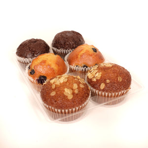 Assorted Muffins | 6 x 65g