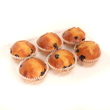 Load image into Gallery viewer, Blueberry Muffins | 6 x 65g