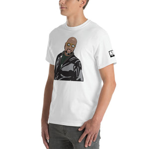 Hue Jackson Cartoon T-Shirt