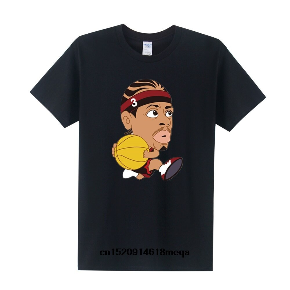 Cartoon Allen Iverson T-Shirt